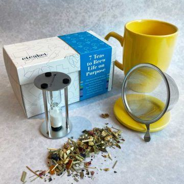 7 Teas To Brew Life On Purpose Collection Gift Set