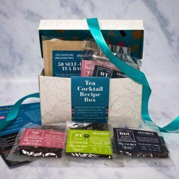 Tea Cocktail Recipe Box