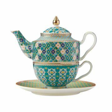 Kasbah Tea For one set in mint