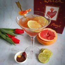 Sugar and Spice Love Potion Mocktail