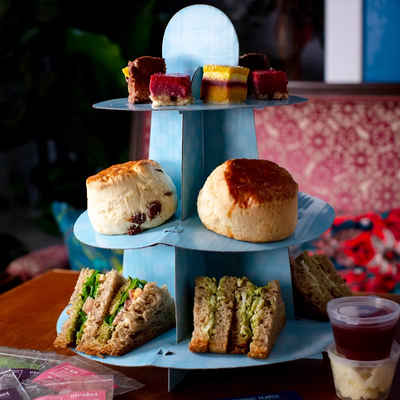 Mother's Day Vegetarian Afternoon Tea for Two