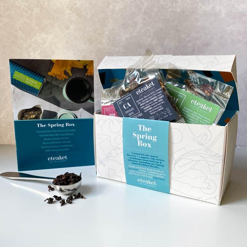 Spring Box Tea Chest Collection