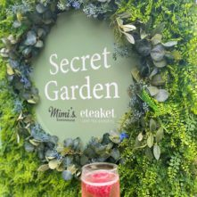 Mimis x eteaket Secret Garden Sign
