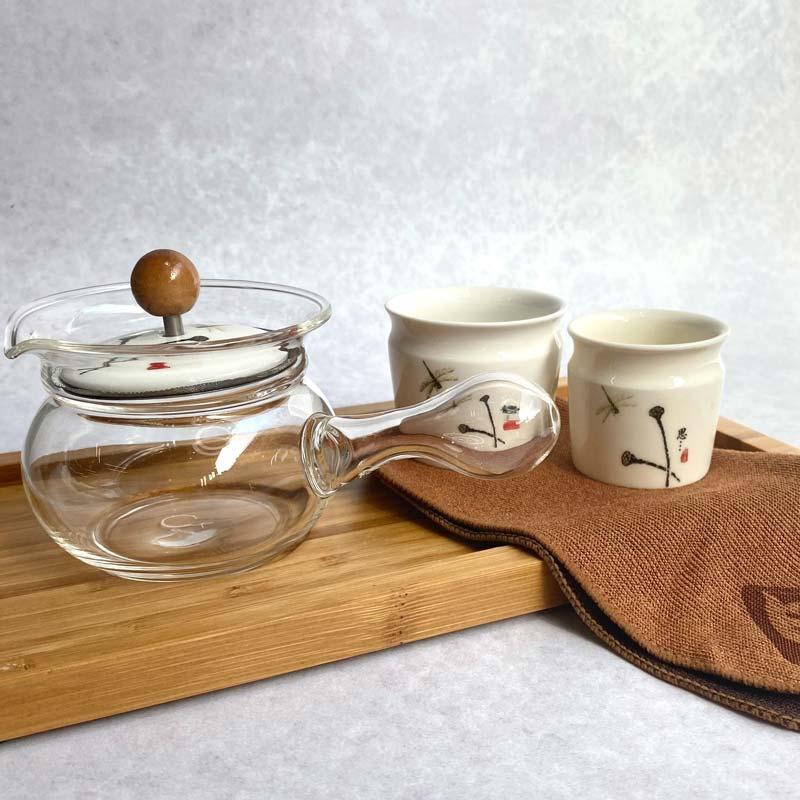 Lillibelle Set Glass tea pot