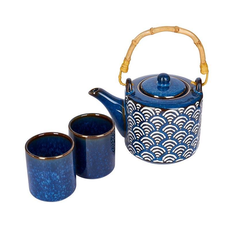 Mikasa Satori Tea Pot && Cup Set